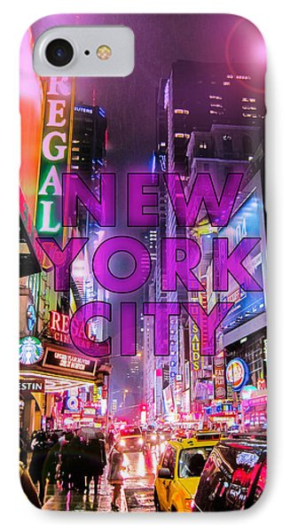 New York City - Color IPhone Case