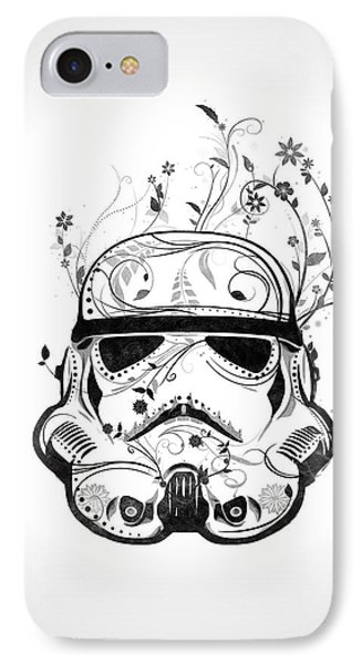 Flower Trooper IPhone Case by Nicklas Gustafsson