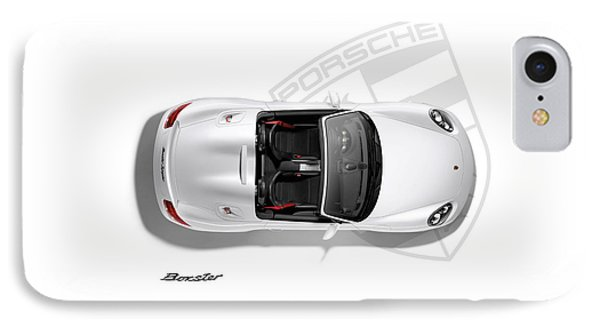 Porsche Boxster IPhone 7 Case by Mark Rogan