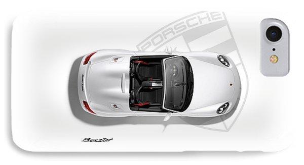 Porsche Boxster IPhone Case by Mark Rogan