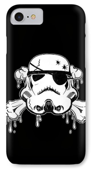 Pirate Trooper IPhone Case by Nicklas Gustafsson