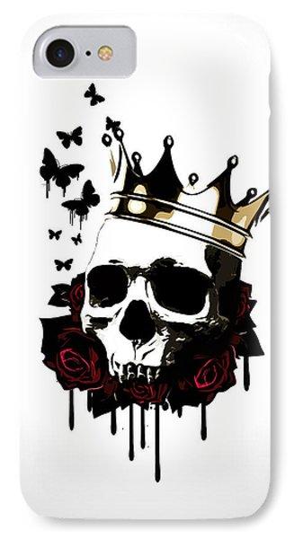 El Rey De La Muerte IPhone Case by Nicklas Gustafsson