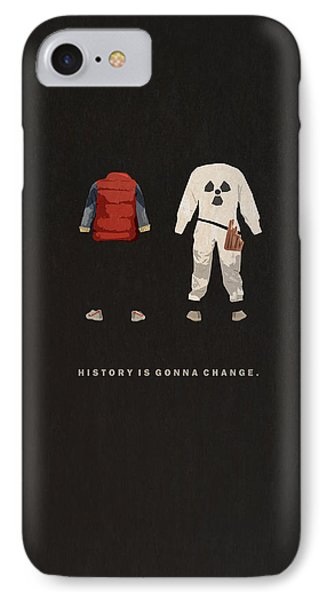The iPhone 7 Case - Back To The Future by Alyn Spiller