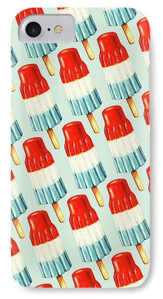 Bomb Pop Pattern IPhone Case by Kelly Gilleran
