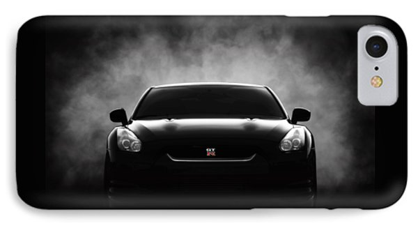 Car iPhone 7 Case - GTR by Douglas Pittman