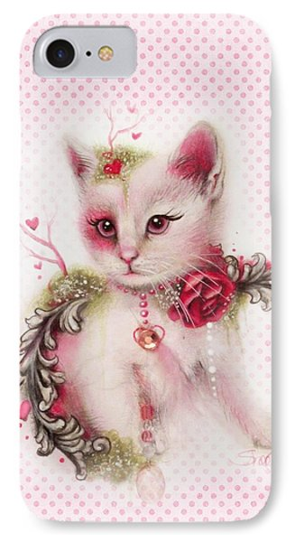 IPhone Case featuring the drawing Love Is In The Air by Sheena Pike