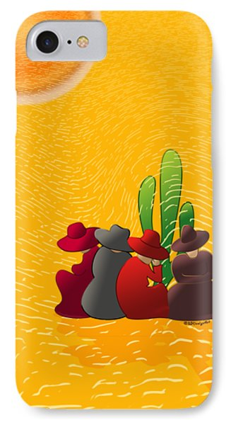Midday Siesta IPhone Case