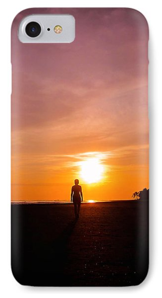 Sunset Walk IPhone Case by Nicklas Gustafsson