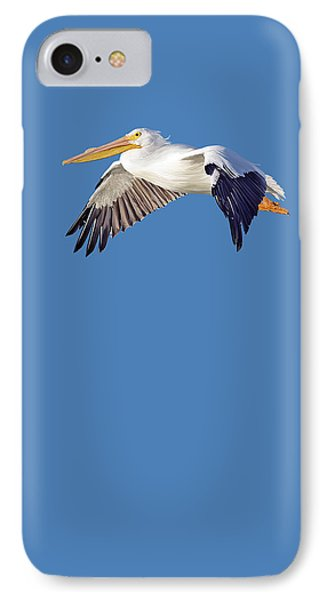 IPhone Case featuring the mixed media Blue Series 003 by Rob Snow
