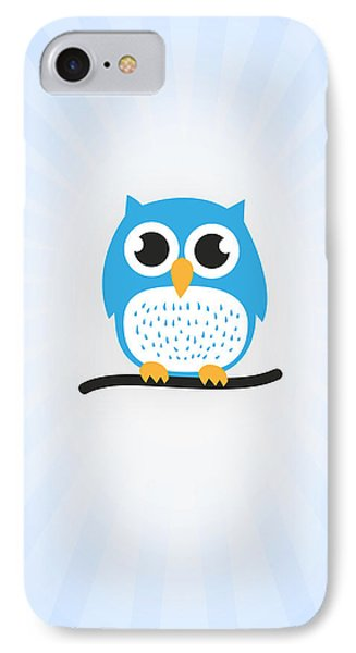 Sweet And Cute Owl IPhone Case by Philipp Rietz