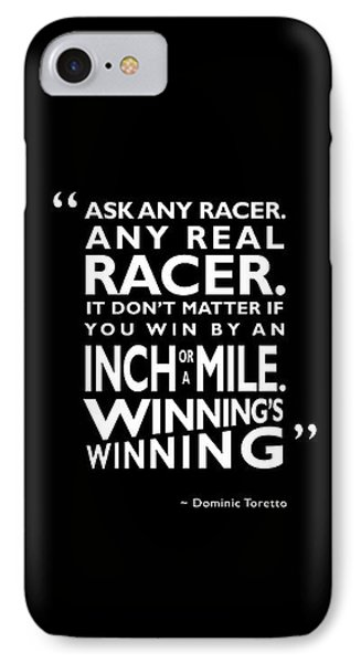 Ask Any Racer IPhone Case by Mark Rogan