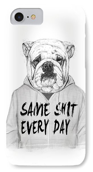 Same Shit... IPhone Case by Balazs Solti