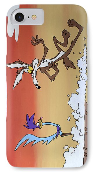 Road Runner IPhone Case by Ian  King