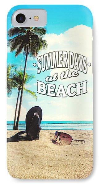 Summer Days IPhone Case