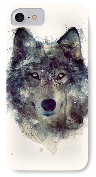 Wolf // Persevere IPhone 7 Case