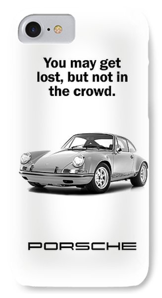 Lost In A Porsche IPhone Case by Mark Rogan