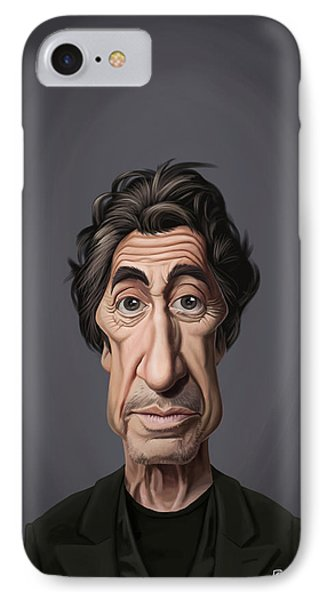 Celebrity Sunday - Al Pacino IPhone Case by Rob Snow
