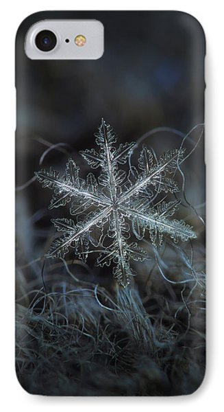 IPhone Case featuring the photograph Leaves Of Ice by Alexey Kljatov
