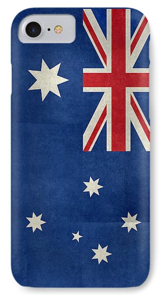 Australian Flag Vintage Retro Style IPhone Case