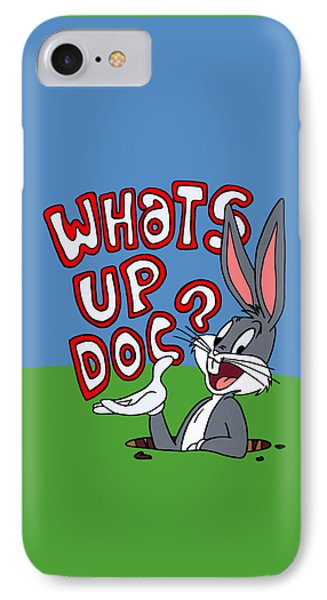 Whats Up Doc IPhone Case by Ian  King