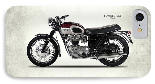 Triumph Bonneville T120 1968 IPhone Case