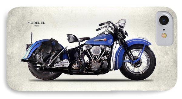 Harley-davidson El 1948 IPhone Case by Mark Rogan