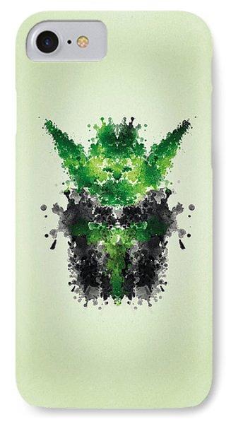 Rorschach Yoda IPhone Case