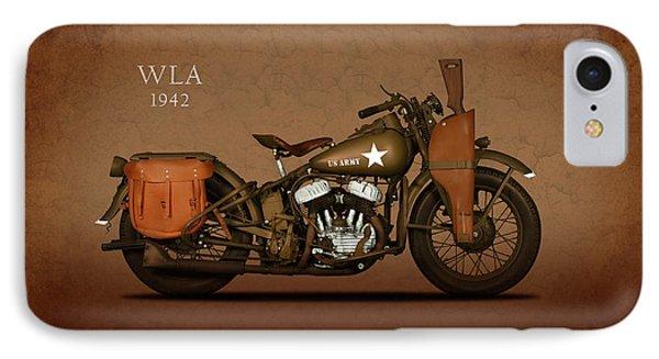 Harley Davidson Wla IPhone Case by Mark Rogan