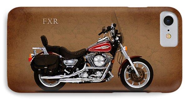 Harley Davidson Fxr IPhone Case by Mark Rogan