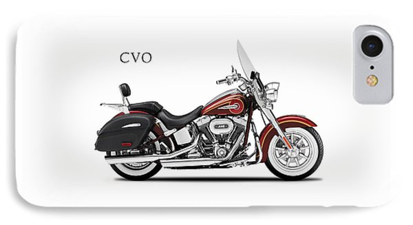 Harley Softail Deluxe IPhone Case by Mark Rogan