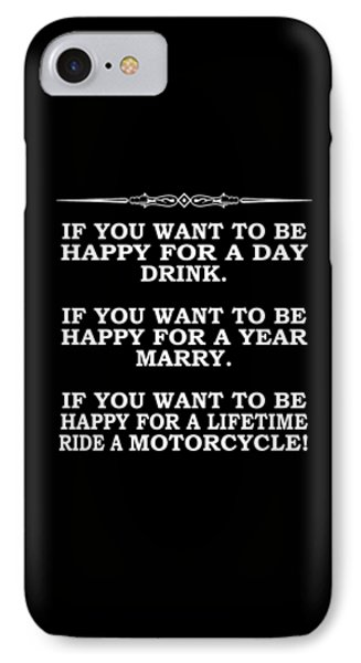Happy For A Day IPhone Case