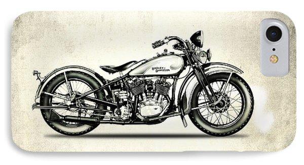 Harley Davidson 1933 IPhone Case by Mark Rogan