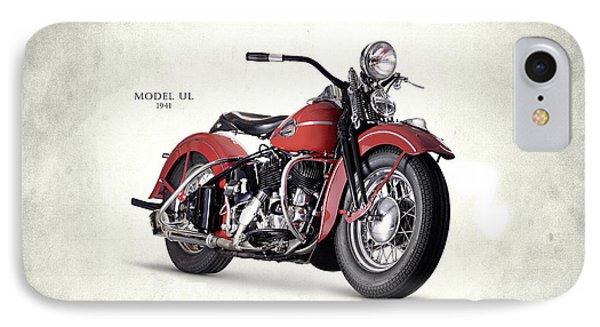Harley-davidson Ul 1941 IPhone Case by Mark Rogan