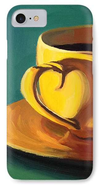 Yellow Java IPhone Case by Nathan Rhoads
