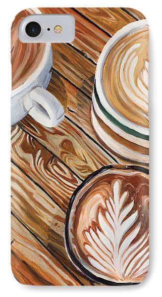 Mocha Trinity IPhone Case by Nathan Rhoads