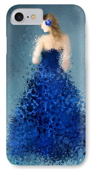 IPhone Case featuring the digital art Angelica by Nancy Levan