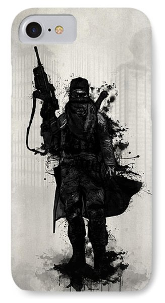 Post Apocalyptic Warrior IPhone Case by Nicklas Gustafsson