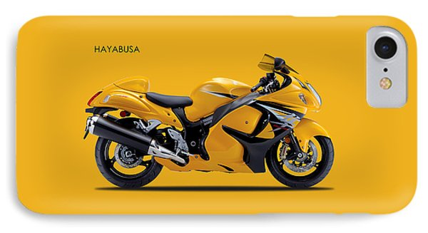 Hayabusa In Yellow IPhone Case by Mark Rogan