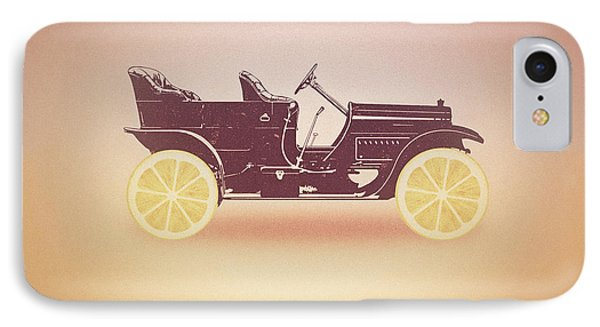 Oldtimer Historic Car With Lemon Wheels IPhone Case by Philipp Rietz
