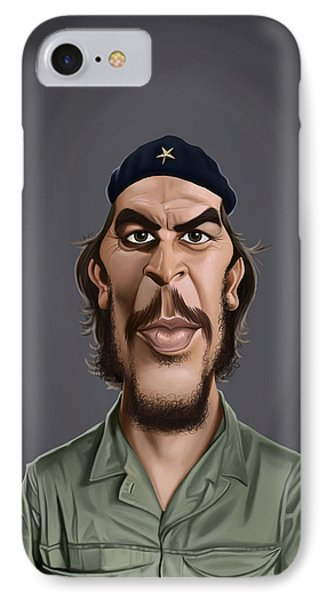 Celebrity Sunday - Che Guevara IPhone Case by Rob Snow