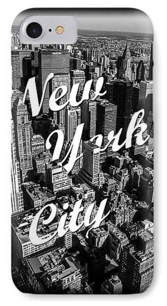 New York City IPhone 7 Case by Nicklas Gustafsson
