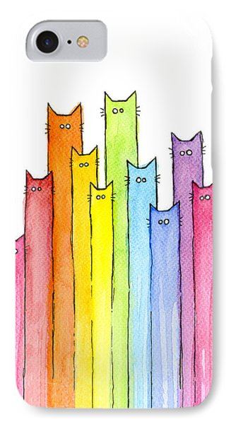 Rainbow Of Cats IPhone Case