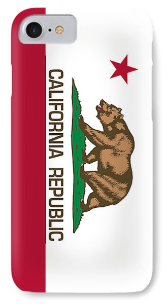 California Republic State Flag Authentic Version IPhone Case
