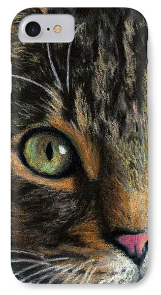 Mesmer Eyes Detail  IPhone Case by Sarah Batalka