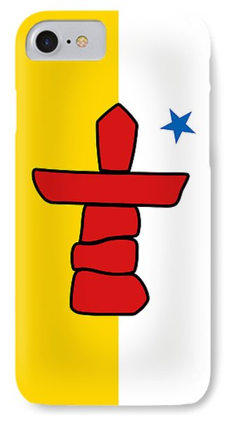 Flag Of Nunavut High Quality Authentic Hd Version IPhone Case