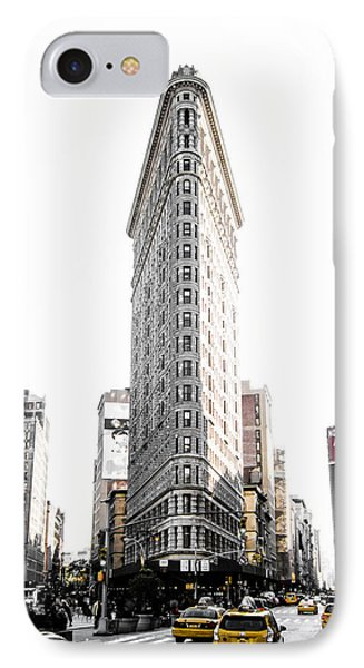Desaturated New York IPhone Case by Nicklas Gustafsson