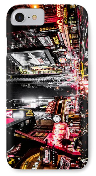 IPhone Case featuring the photograph New York City Night II by Nicklas Gustafsson