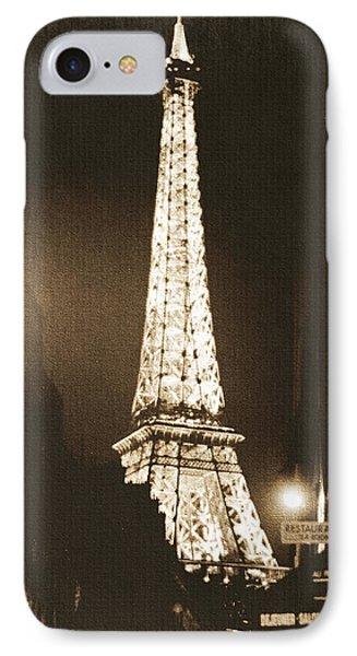 Postcard From Paris- Art By Linda Woods IPhone 7 Case by Linda Woods