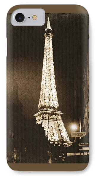 Postcard From Paris- Art By Linda Woods IPhone 7 Case