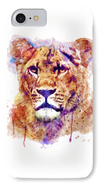 Lioness Head IPhone Case